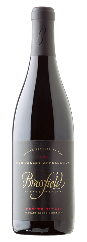 2013 Petite Sirah, Volcano Ridge Vineyard